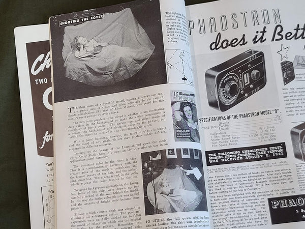 Minicam Photography Magazine Oct 1941