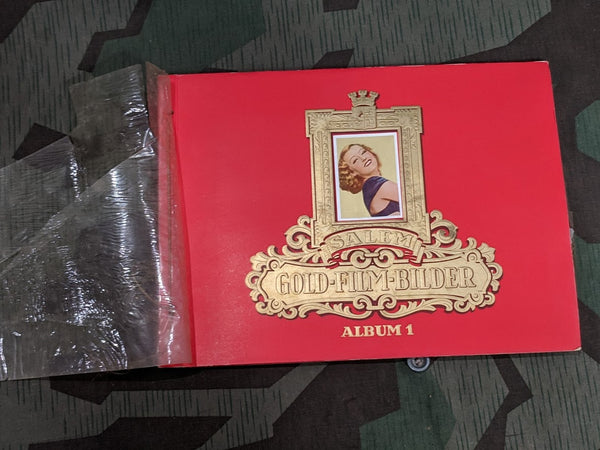 Salem Gold Film Bilder Cigarette Card Album Incomplete