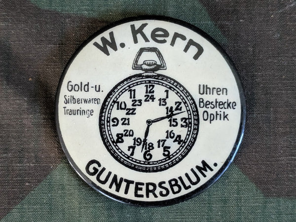 W. Kern Watch & Jewelry Advertising Mirror
