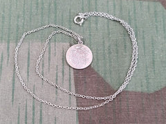 "Gott schütze Dich ""God Protect You"" 835 Silver Necklace"