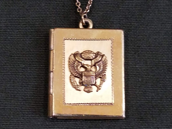 US Army Sweetheart Locket