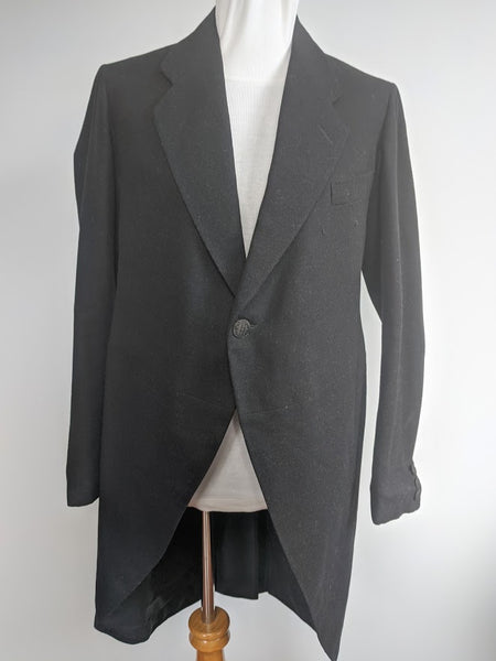 Vintage 1920s / 1930s German Men's Tailcoat Johann Korger