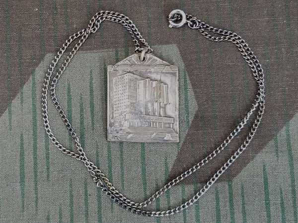 Vintage 1935 Brussel Bruxelles World Expo Necklace