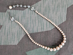 Vintage German Faux Pearl Necklace