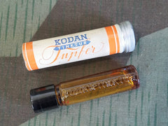 Vintage German Kodan Tinktur Disinfectant Glass Bottle Aluminum Tube