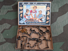 Vintage 1930s / 1940s German Cookie Cutter Set DRGM