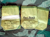 Vintage 1930s/1940s German Green Coffee Bags