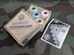Vintage 1930s / 1940s German Edelweiss Box of Thread