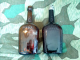 Vintage 1930s / 1940s Maggi's Nr.6 BIG Glass Bottles