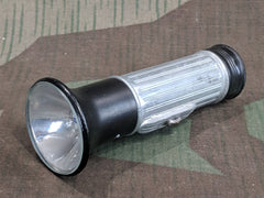 Vintage 1930s / 1940s WWII German Daimon Flashlight Working