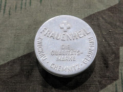 Vintage 1930s German Frauenheil Diaphragm Aluminum Tin