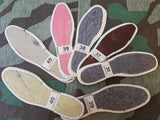 Vintage 1930s German Ladies Shoe Insoles New Old Stock (Multiple Sizes)