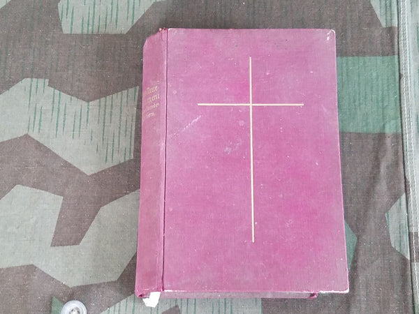 Vintage 1930s Pre-WWII German New Testament Bible 1936