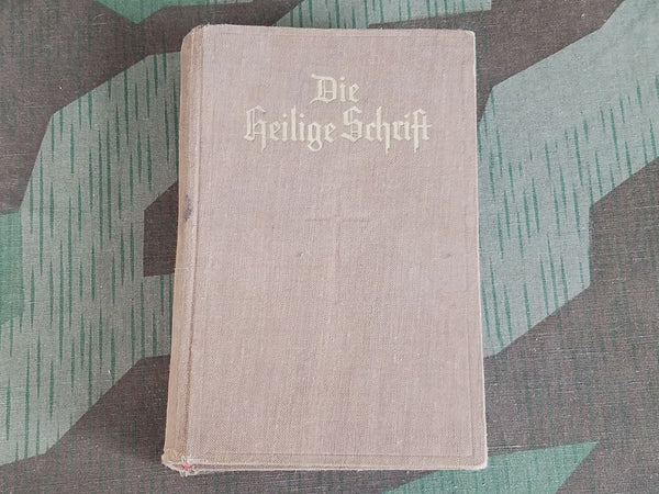Vintage 1938 German Die Heilige Schfift Evangelical Holy Bible