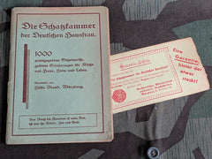 Vintage 1939 WWII Book - 1000 Tips for the German Hausfrau