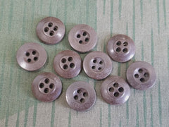 Vintage 1940s Brown Bakelite Buttons