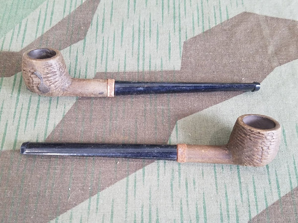 Vintage 1940s Small German Pipes w/ Straight Stem