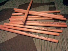 Vintage 1940s WWII German Siegfried Pencils White