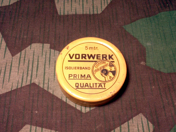 Vintage 1940s WWII German Vorwerk Tape Tin