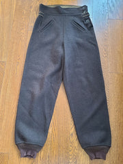 Vintage 1940s Women's Brown Wool Winter Pants Ski Trousers
