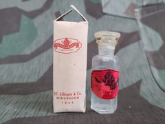 Vintage 1942 1943 German Full Bottle of Salmiakgeist Ammonia