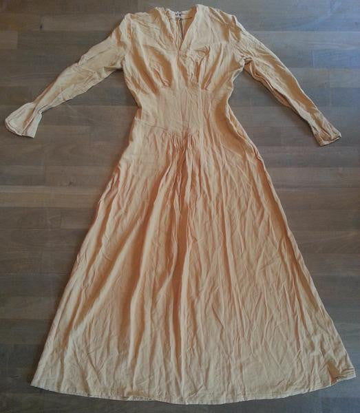 Vintage 1945 DuBarry Evening Gown Dress
