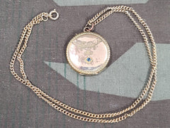 Vintage Edwardian German Locket Necklace Kollmar & Jourdan