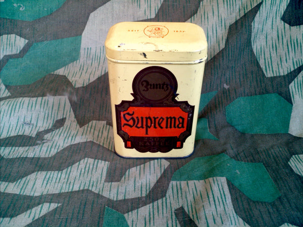 Vintage German 1920s/1930s Zuntz Coffee Can