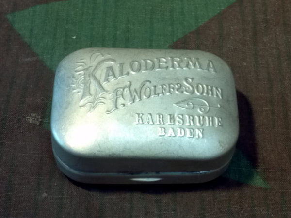 Vintage German 1930s Kaloderma Small Traveling Soap Dish