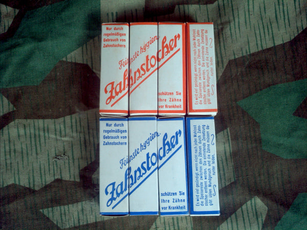 Vintage German 1930s Toothpicks - New Old Stock
