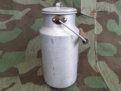 Vintage German 2L Aluminum Milk Can