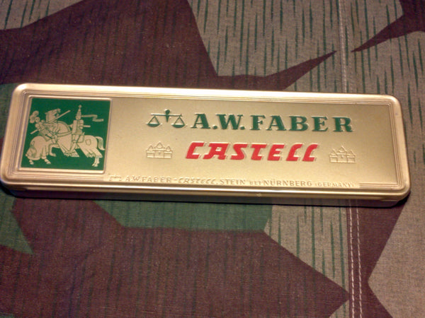 Vintage German A.W. Faber Castell Pencil Box