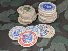 Vintage German Beer Coasters