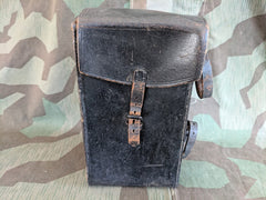 Vintage German Black Pouch - Possibly for a Bicycle