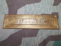 Vintage German Briefe Letter Slot
