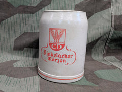 Vintage German CD Dinkelacker Märzen 0,5L Beer Stein Krug