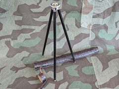 Vintage German Camera Tripod with Carrier