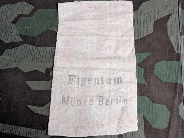 Vintage German Eigentum Münze Berlin Money Bag