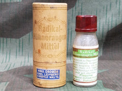 Vintage German Medicine Bottle for Sore Feet