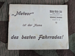 Vintage German Meteor Bicycle Brochure