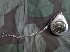 Vintage Austrian Pocket Watch with Protector and Chain