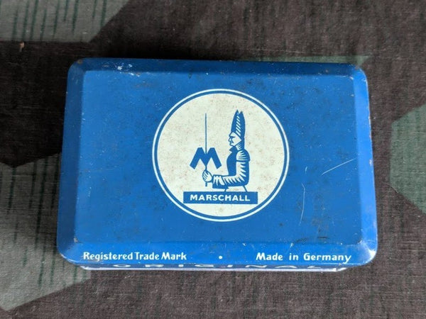 Vintage German Post-WWII Marschall Tin