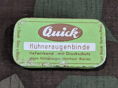Vintage German Quick Foot Bandage Tin