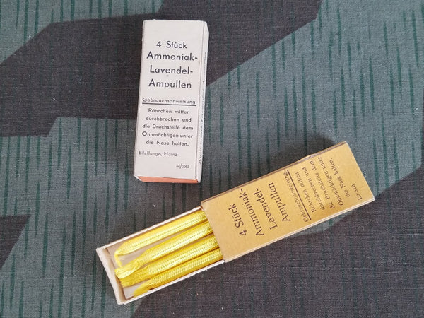 Vintage German Two Boxes Ammoniak-Lavendel-Ampullen Smelling Salts