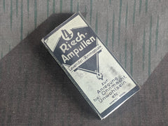 Vintage German WWII-era Riech-ampullen Box of Smelling Salts