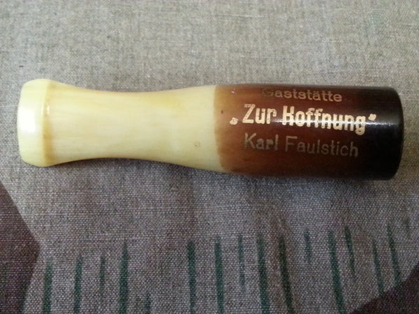 Vintage German WWII 1930s Celluloid Cigar / Cigarette Holder Advertising