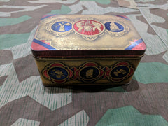 Vintage German WWII era H Liedentopf Kaffee Coffee Tin