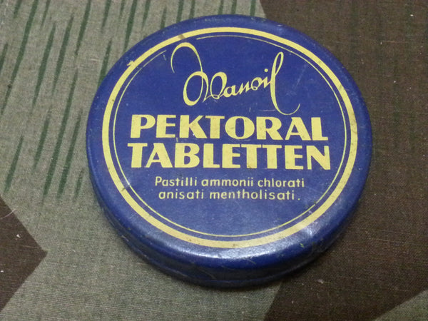 Vintage German Wawil Pektoral Tabletten Cough Drops Tin