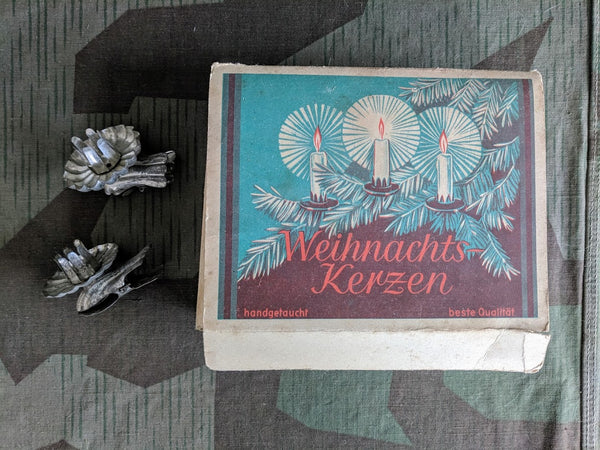 Vintage German Weihnachts-Kerzen Christmas Tree Candle Holders