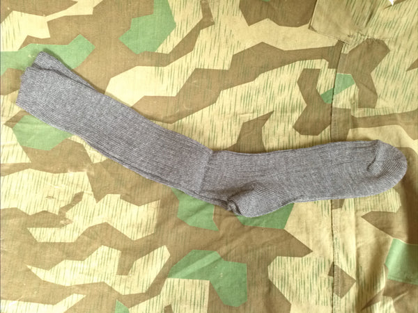Vintage German Gray Socks WWII or Postwar